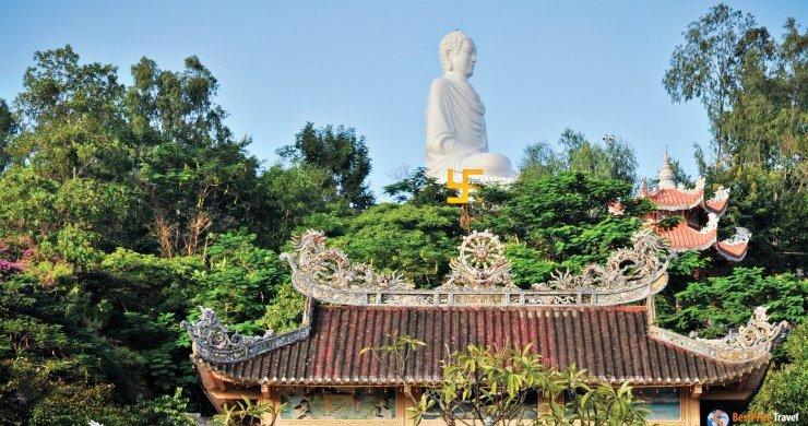 Long Son Pagoda And White Buddha