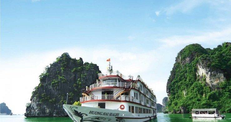 Huong Hai Sealife Cruise Overview (1)