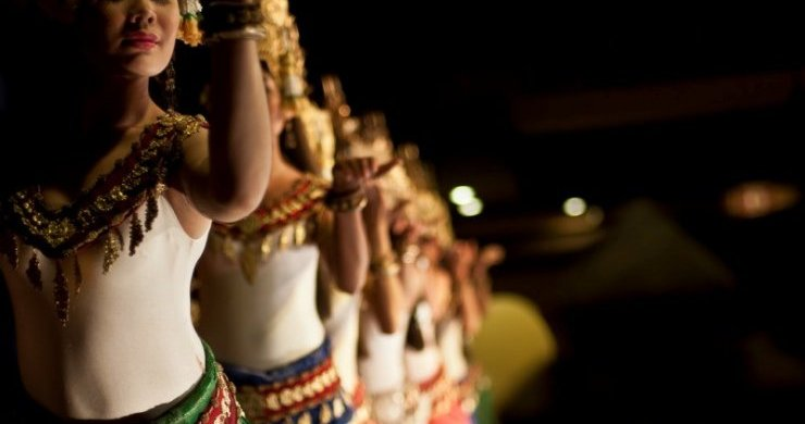 Unique Slow And Gentle Movement Of Apsara Dance Is Easy To Be Distinguished From Any Dances In The World