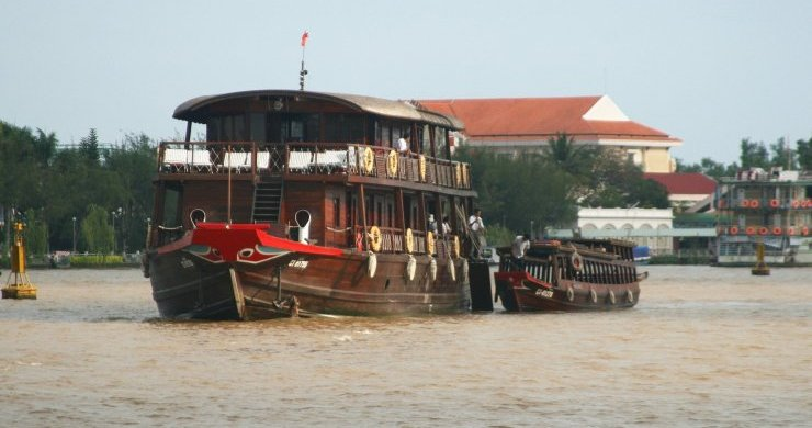 Bassac Cruise on Mekong River