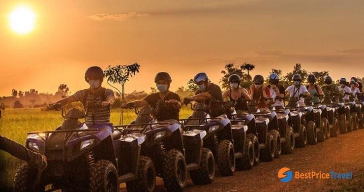 Cambodia Quard Bike