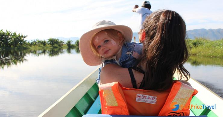 Myanmar Trip With Kids