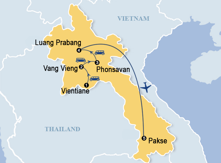 Best Of Laos 10 Days