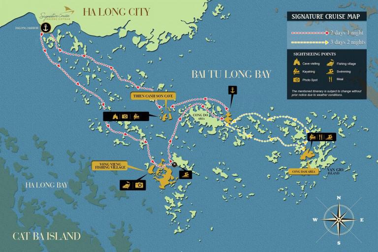 Signature Cruise Map