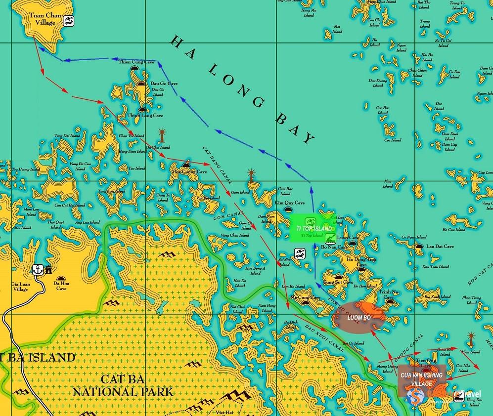 Ok Cruise Map Copy