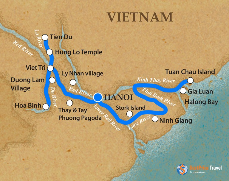 Halong Bay And Red River (2)