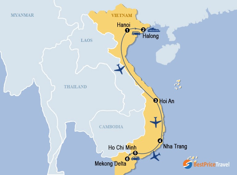 Vietnam Beach Journey With Wellness And Spa 14 Days