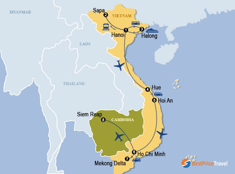 Highlights Of Vietnam And Cambodia 14 Days