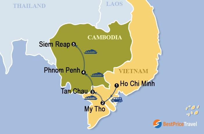 Jayavarman Cruise 11 Days Uncover Mekong River