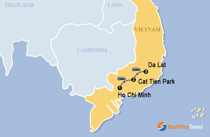 South Vietnam With Multi Sport Adventure Package 6 Days