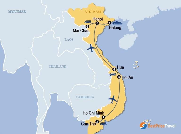 Vietnam Like A Local 14 Days