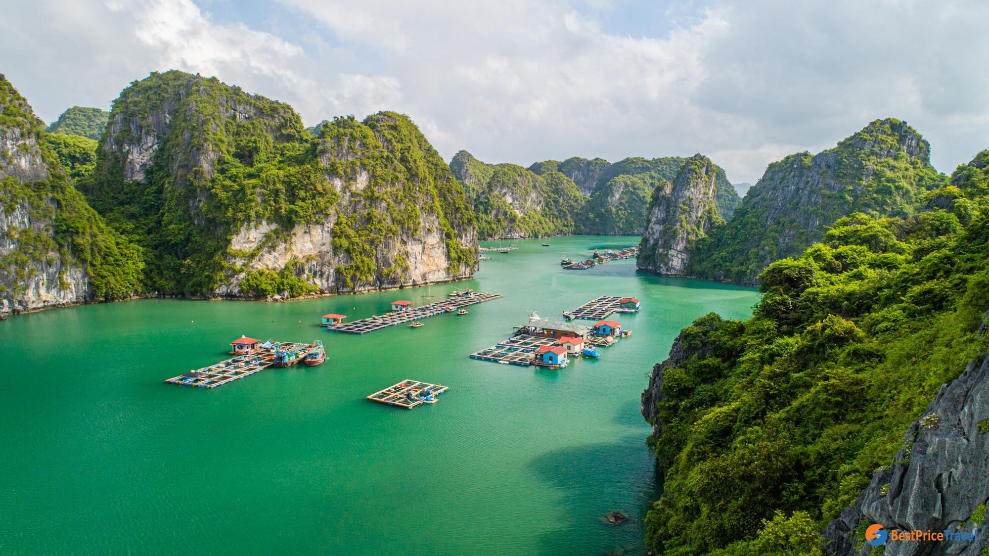 Van Boi Fishing Village