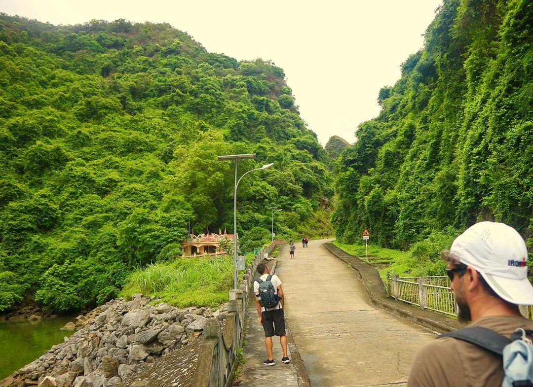 Way to Viet Hai Village