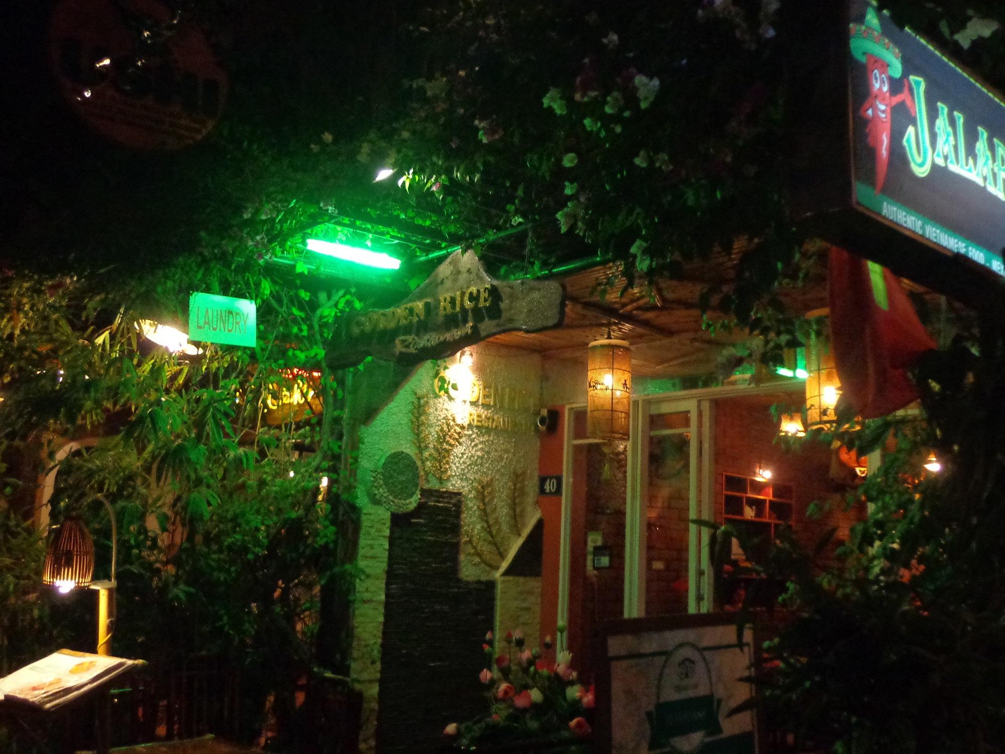 Golden Rice Restaurant in Hue